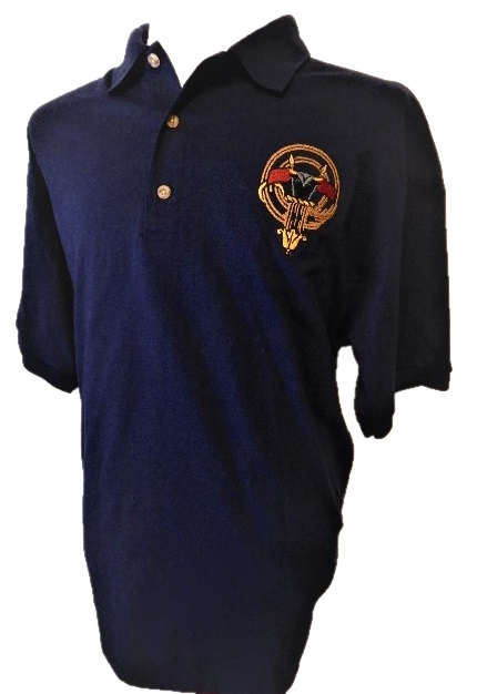 Embroidered Clan Badge Shirts