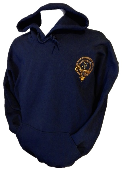 Scottish Clan Badge Hooded Sweatshirt