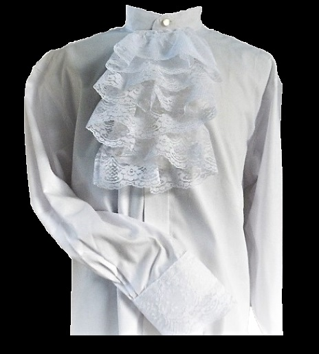 Mens Jabot Formal Shirt