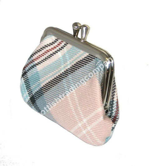 Diana Memorial Rose Tartan Small Coin Purse