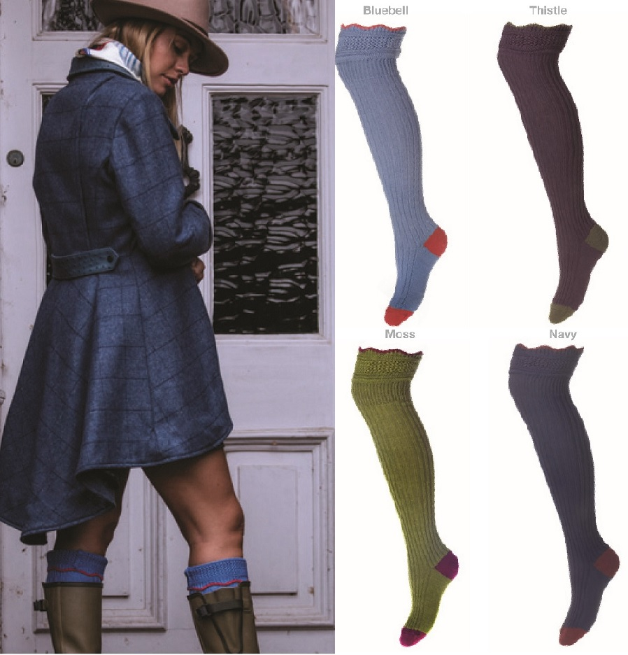 House of Cheviot Lady Ellen Socks
