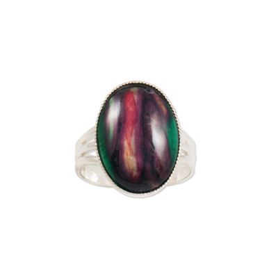 HeatherGem Open Large Oval Ring