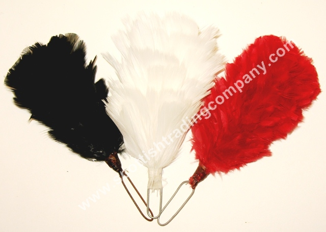 Glengarry and Balmoral Feather Hackle