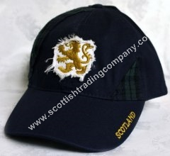 Lion Rampant and Tartan Hat