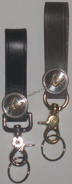 Masonic Kilt Belt Key Holder