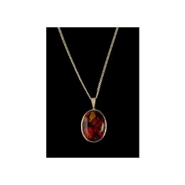 Heather Gem Drop Pendant