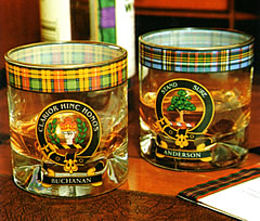 Clan Crested Glasses Set