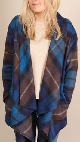 Buchanan Blue Tartan Kerry Jacket