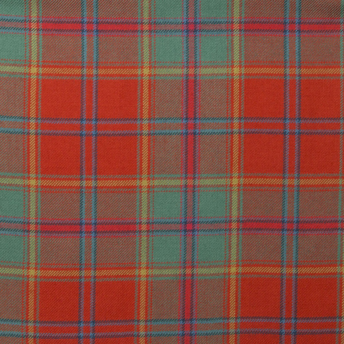 All Ireland Red Tartan Fabric