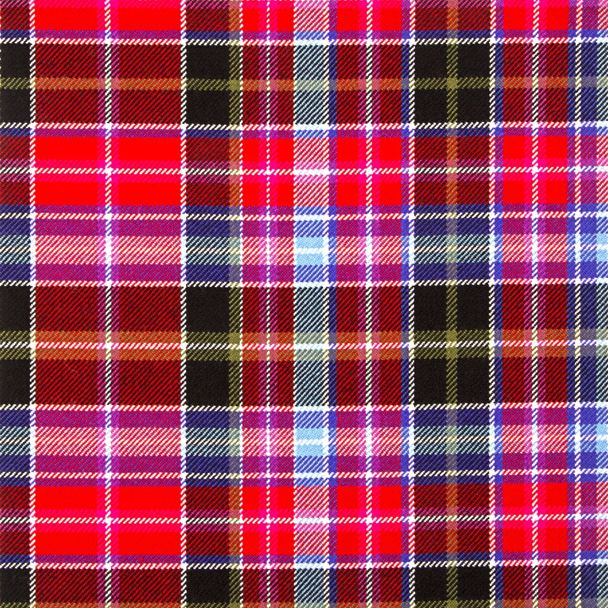Aberdeen Heavy Weight Tartan Fabric