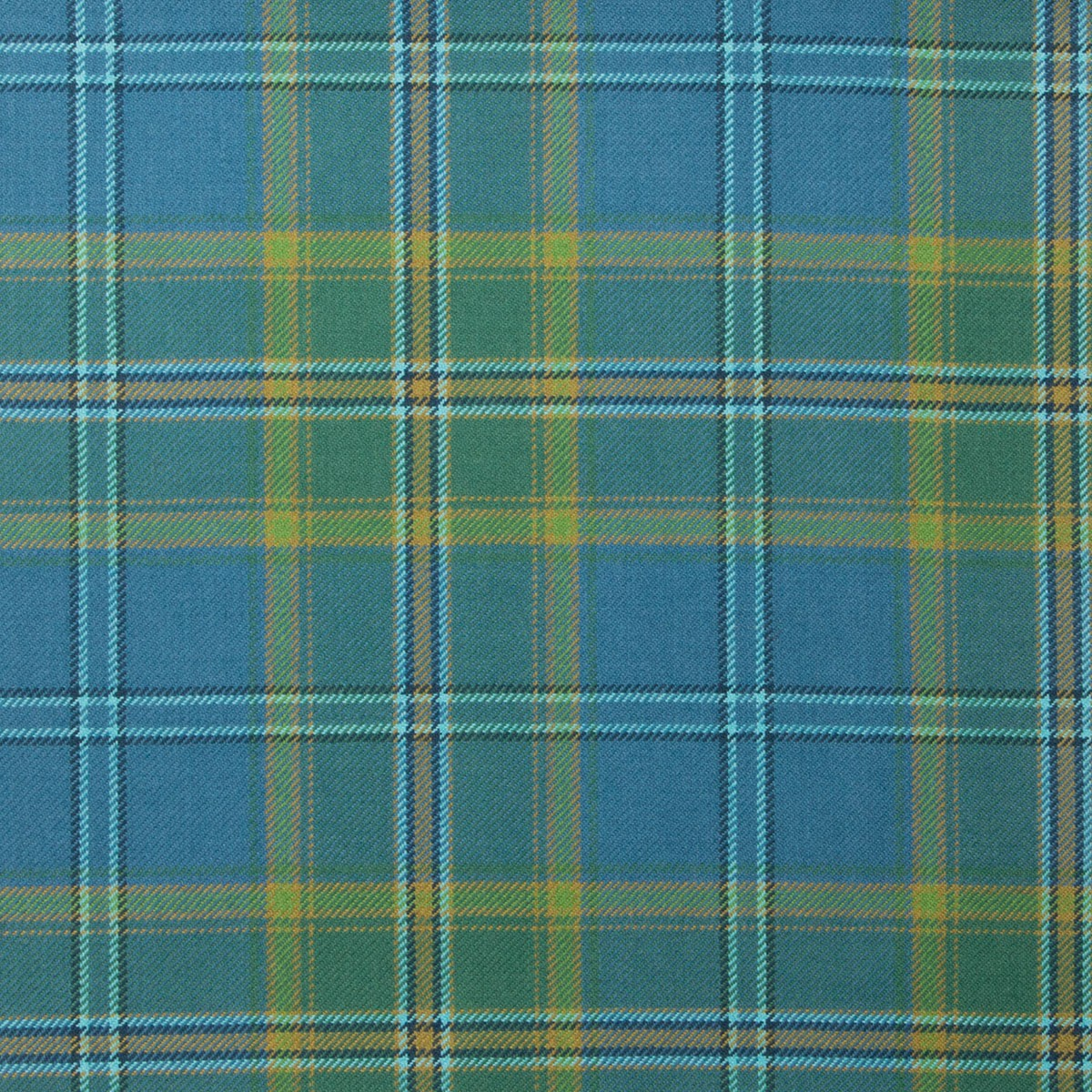 All Ireland Blue Tartan Fabric