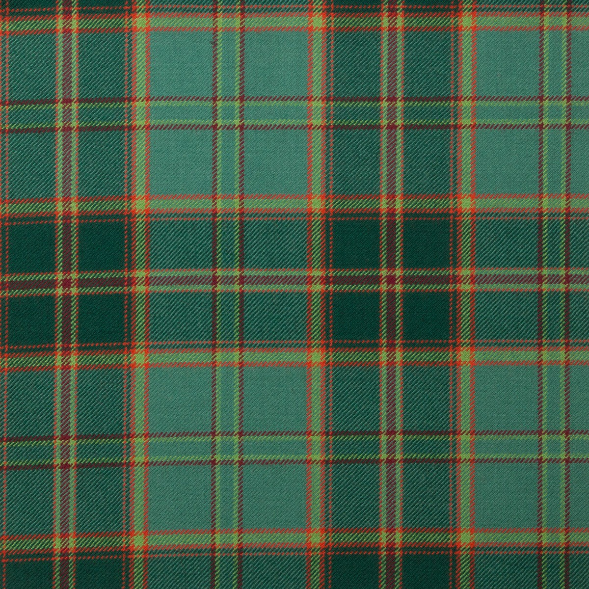 All Ireland Green Tartan Fabric