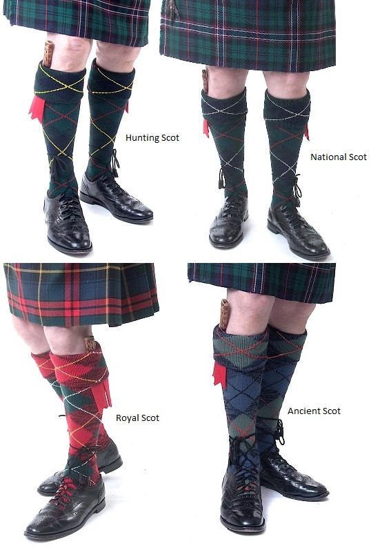 House of Cheviot Clansmen Argyle Kilt Hose