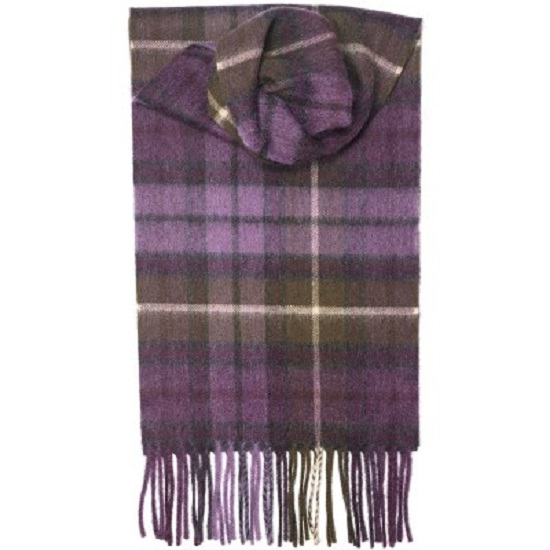 Buchanan Heather Cashmere Scarf