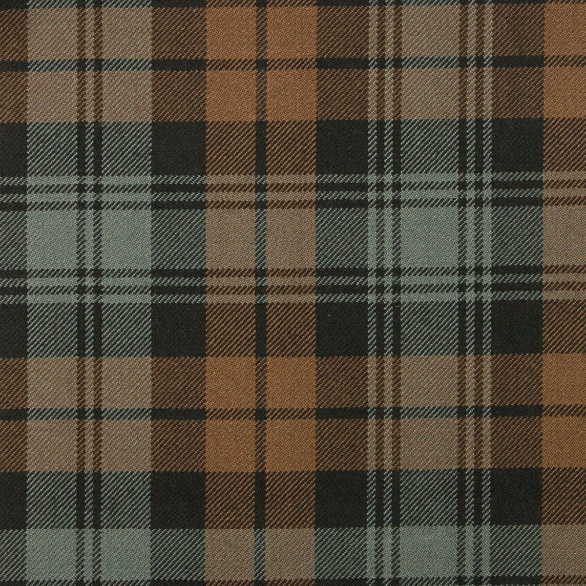 Black Watch Weathered Heavy Weight Tartan Fabric