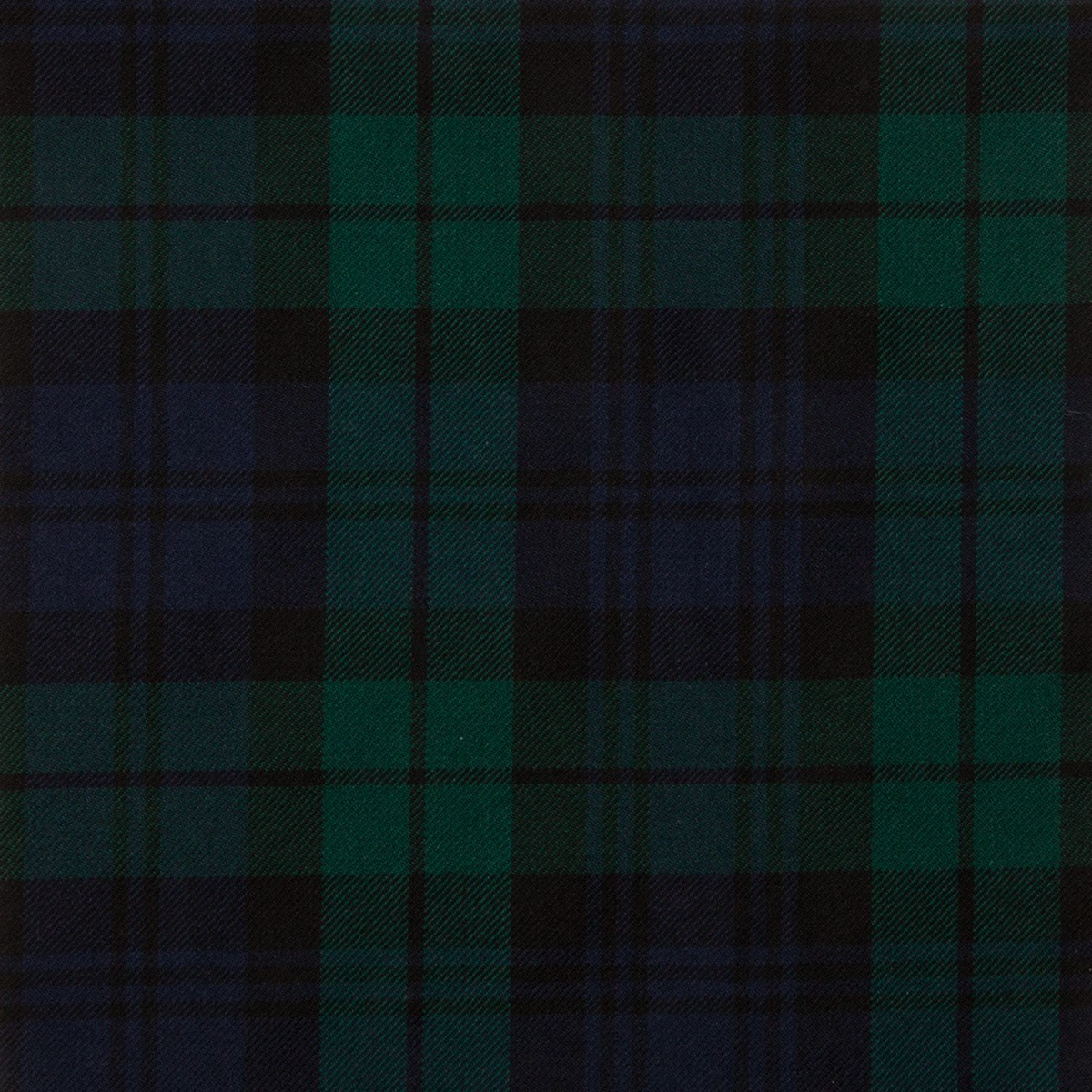 Black Watch Modern Braeriach Tartan Fabric