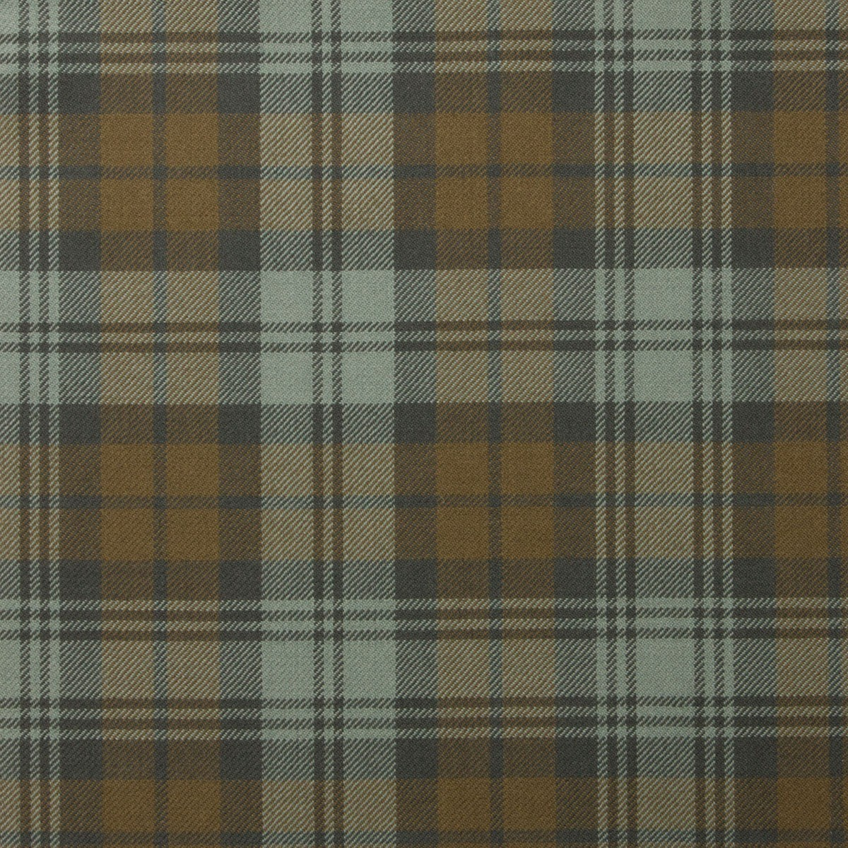 Black Watch Weathered Tartan Fabric