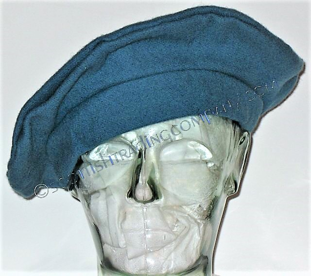 Traditional Bonnet in Jacobite Blue