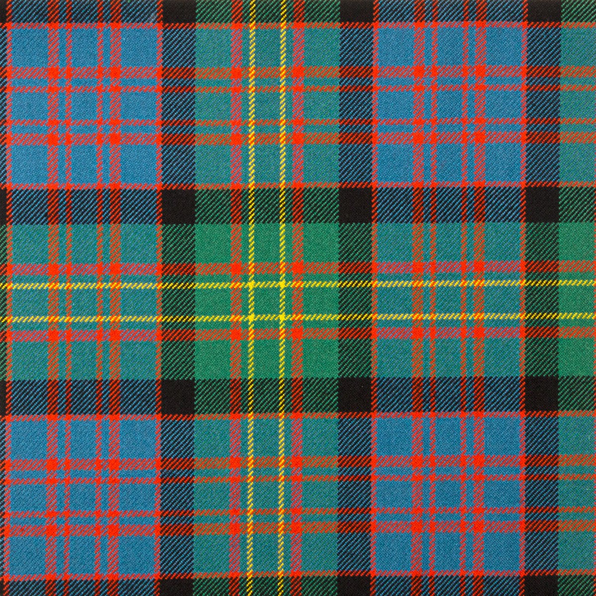 Bowie Ancient Heavy Weight Tartan Fabric