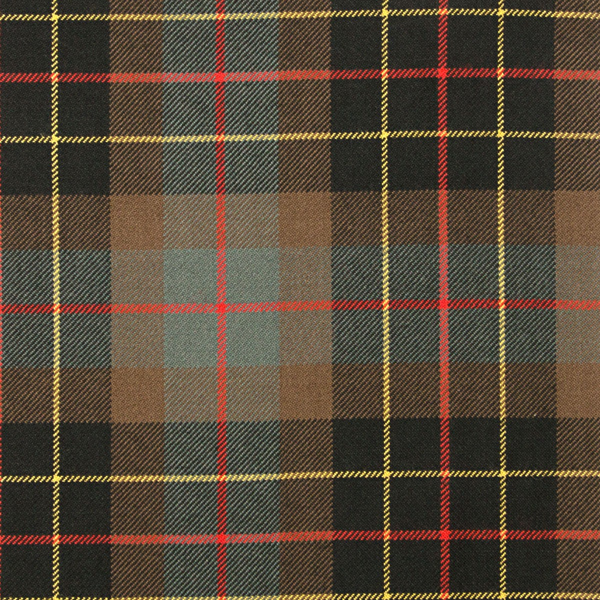 Brodie Hunting Weathered Heavy Weight Tartan Fabric
