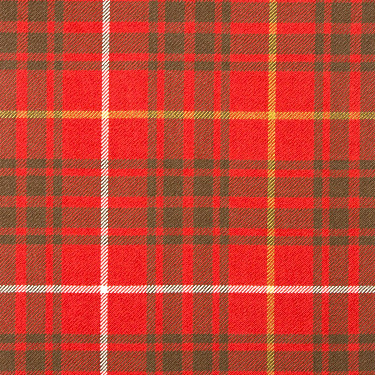 Bruce Weathered Heavy Weight Tartan Fabric
