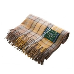 Buchanan Ancient Tartan Large Wool Blanket