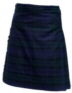Mens Scottish Tartan Kilts in Polyviscose