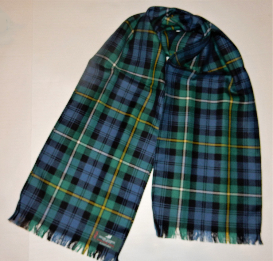 Campbell of Argyle Ancient Tartan Scarf