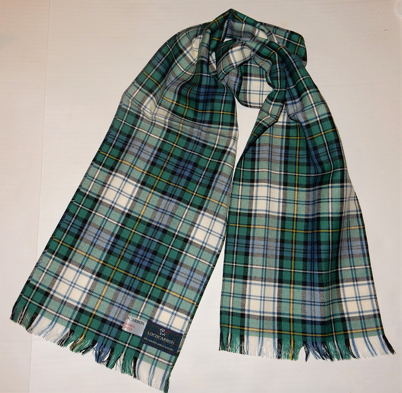 Campbell Clan Dress Tartan Scarf
