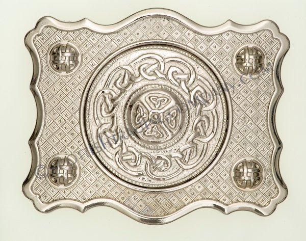 Celtic Boss Center Buckle