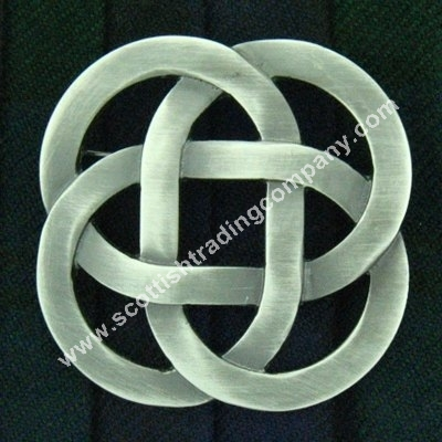 Forever Celtic Eternity Knot Brooch