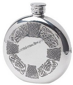 Celtic Round Flask
