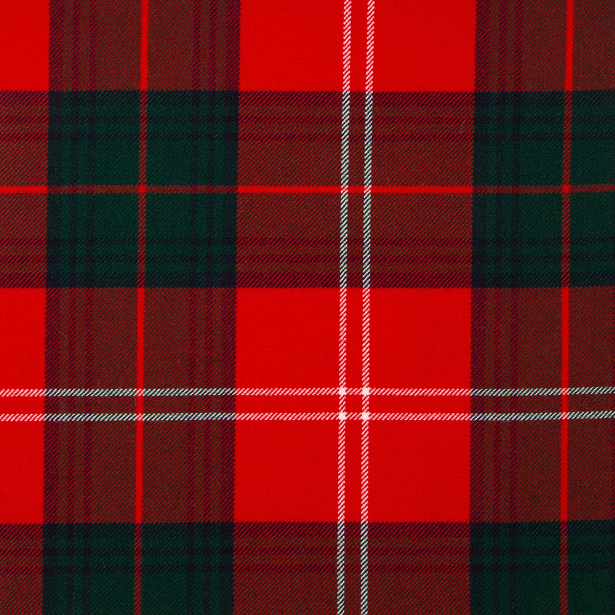 Chisholm Red Modern Braeriach Tartan Fabric