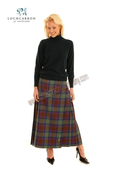 Full Length Kilted Skirt