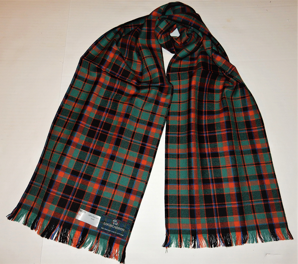 Cumming Hunting Ancient Tartan Scarf