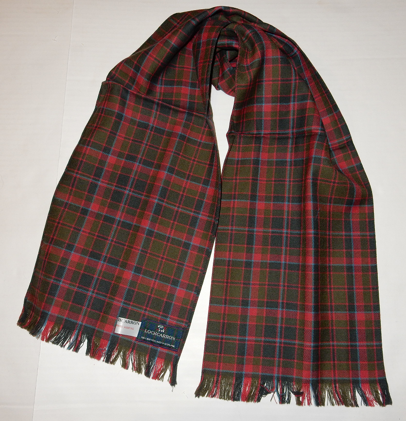Cumming Hunting Weathered Tartan Scarf