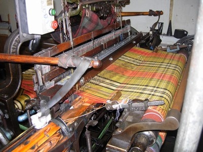 Custom Made Tartan Fabric in 15oz Wool
