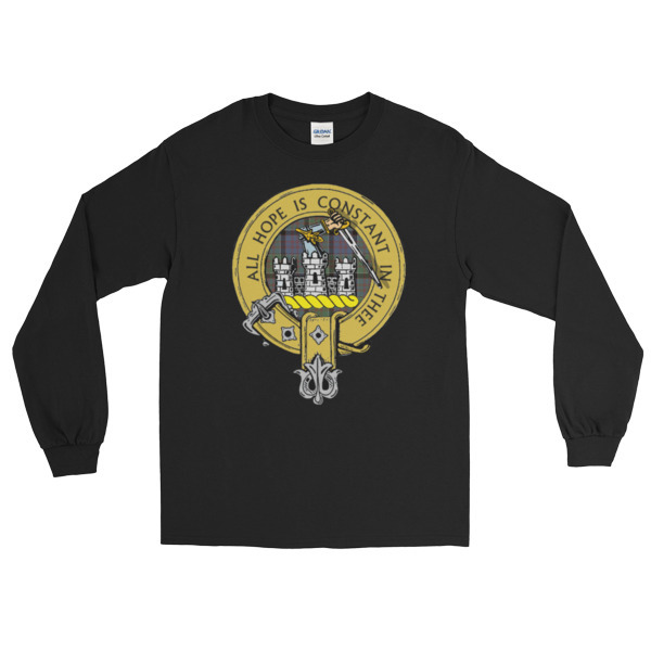 Scottish Clan Badge Long Sleeve T Shirt