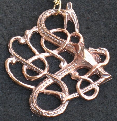 Celtic Dragon Pendent