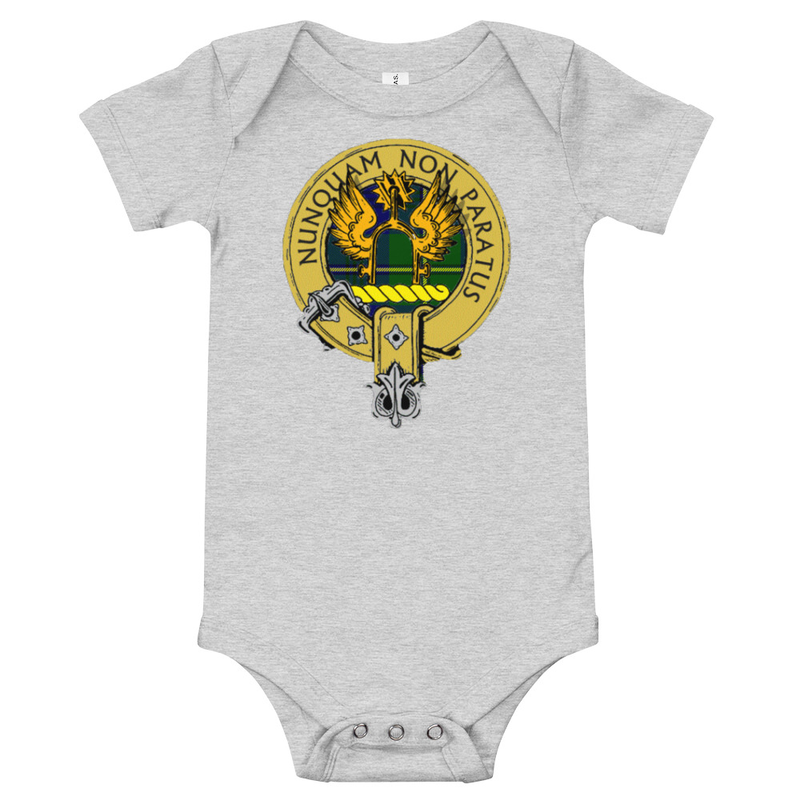 Baby Scottish Clan Badge One Piece