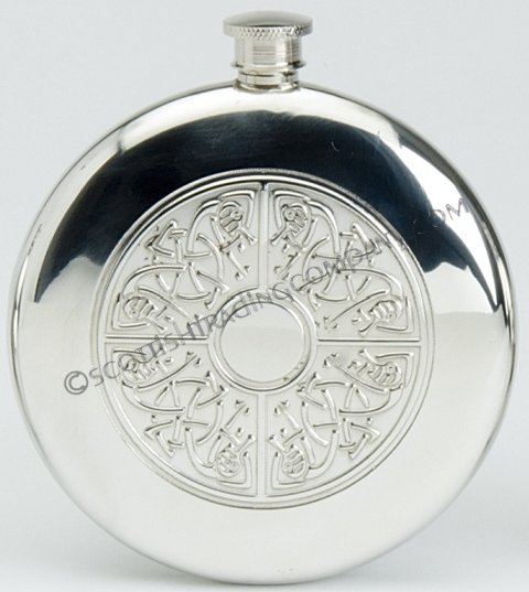 Celtic Slim Sporran Flask