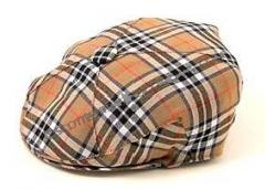 Scottish Tartan Quatered Flat Cap in Reiver Tartans
