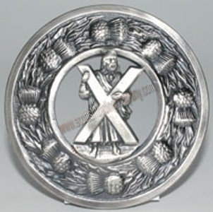 St. Andrew's Plaid Brooch