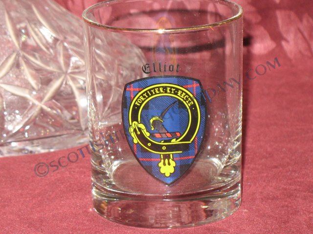 Clan Crested Glasses