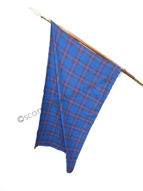 Tartan Clan Flag with Grommets