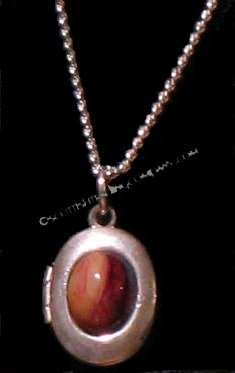 Heather Gem Locket
