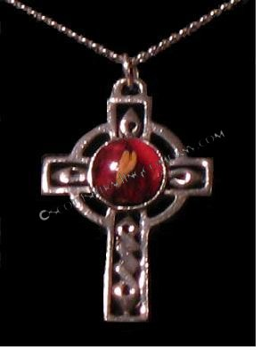 Heather Gem Cross
