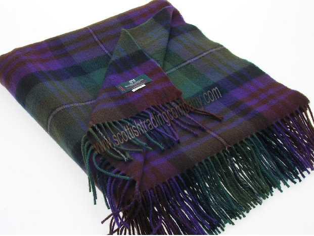 Tartan Blanket Scottish Blankets The Scottish Trading