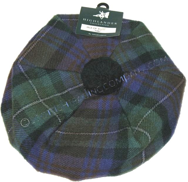Brushed Wool Tams Select Tartans
