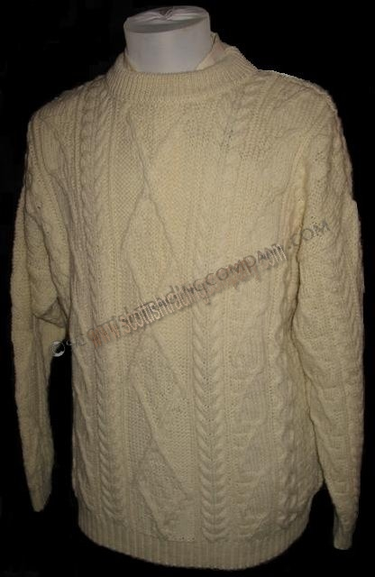 Cable Knit Fishermen's Sweater